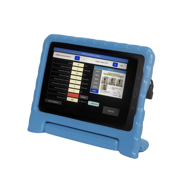 BFB4 Physiocomputer Biofeedback-Electromyographic-to-Two-Channel-Screen-Electromedical Einstellungen für die Physiotherapie