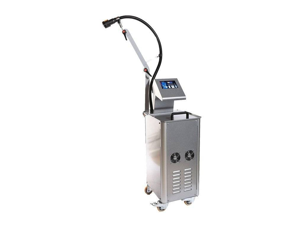 Cryo-ultrasound therapy device for physiotherapy